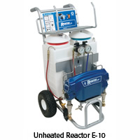 Equipment for spraying