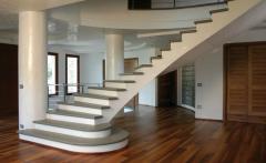 Las escaleras de mármol