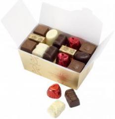 Bombones frescos de chocolate belga
