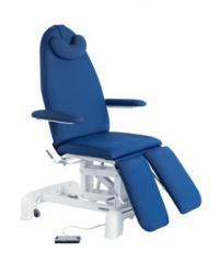 Camilla eléctrica-sillón podología con brazos