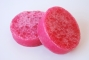 Jabón-esponja frambuesa