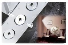 Lámparas LED de pared Serie Microluz