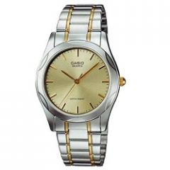 Analog clock MTP1275SG-9A Casio Water Resistant