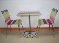 Pack compuesto de mesa y 2 sillas