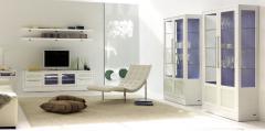 Muebles blancos para salon