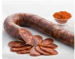 Chorizo sarta estilo casero dulce y picante