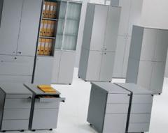 Muebles de la oficina