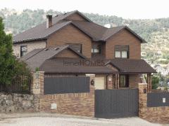 Casas con estructura de madera, tipo canadienses