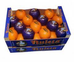 Caja Naranjas 15 kg RULETA Extra Selecta ZUMO