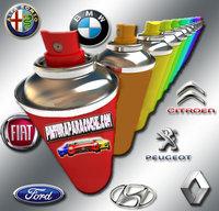 Spray Pintura del color de tu coche 400ml