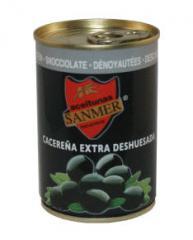 Aceitunas negras deshuesadas
