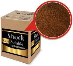 Café soluble Shock caja de 25 kilos