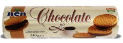 Galleta rellena de Chocolate 240