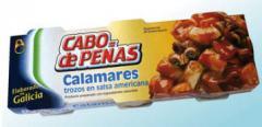 Pulpo salsa americana (trozos)