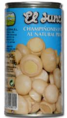 Champiñones en conserva