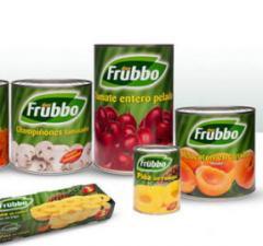 Conservas naturales de frutas