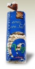 Galletas de arroz integral con sal