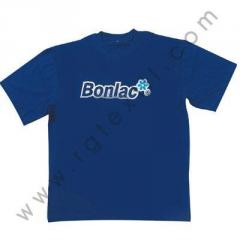 Camiseta publicitaria transfer