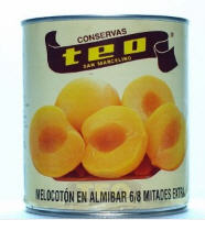 Melocotón en Almíbar 6-8 Frutos Extra