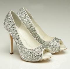 Zapatos de novia de Bejamin Adams