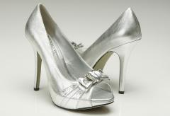Zapatos en plata