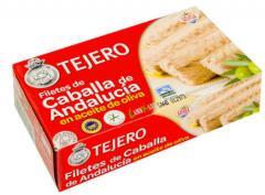 Filetes de caballa de Andalucia en oliva