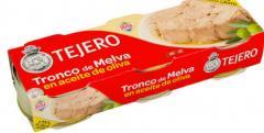 Tronco de melva en aceite de oliva