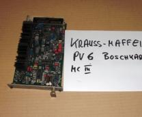PV6 Tarjeta Bosch (MC 3) Krauss-Maffei