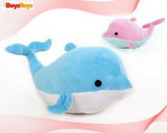 Delfín de peluche