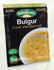 Sopa Bulgur con Verduras Sobre 40g