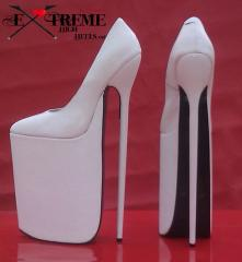 Extreme high heel boots and shoes