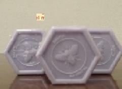 Jabón hexagonal con miel de Lavanda