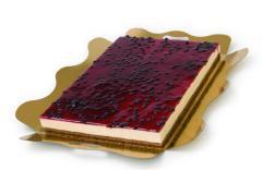 Plancha de queso con arándanos