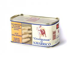 Esparrago Blanco de Navarra Extra lata 1kg
