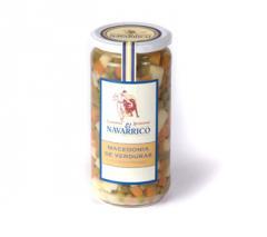 Macedonia de verduras frasco 1kg