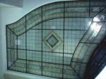 Frentes y lucernarios de vidrieras emplomadas