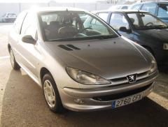 Automovil Peugeot 206 XT 1.4 HDI 70 CV