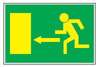 Señal Vias de Evacuacion