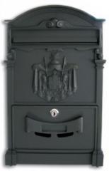 Buzón modelo Fierenze 420X90X270 - negro