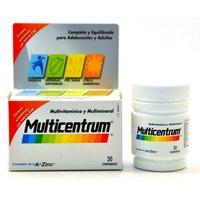 Multicentrum con luteína 30 comp