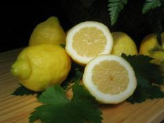 Limones naturales.