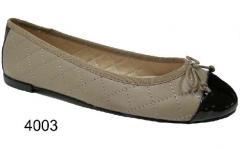 Zapatos mocasines, bailarinas