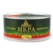 Caviar ruso. Caviar de salmon ZARENDOM