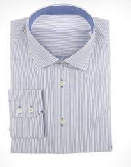 Camisa rayas azules/blancas