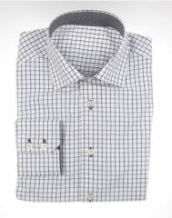 Camisa cuadros negros/blancos