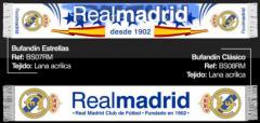 Bufandas Real Madrid