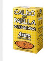Caldo para Paella Valenciana 100% Natural