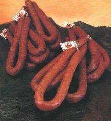 Chorizos casero pimienta