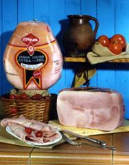 Skin Cooked Ham
