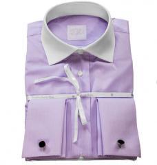 "Camisa de algodón ""doppio"